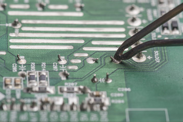 Mainboard soldering