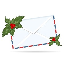 gift letter with Christmas berry
