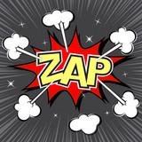 Fototapety Zap speech bubble, vector format
