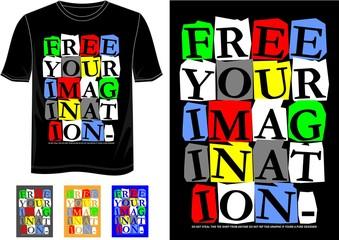 t shirt imagination