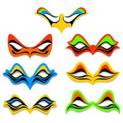 Different masks