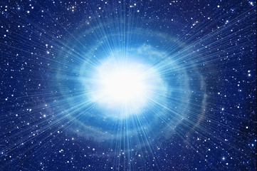 white flash in cosmos sky backgrounds