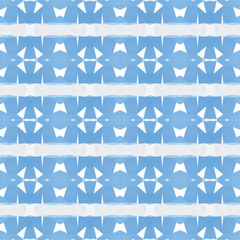 Blue abstract polygonal triangle pattern