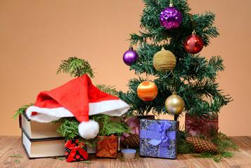 Christmas presents under