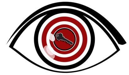 Vision - Eye with Key