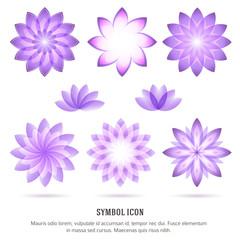 flower-icon-set-beauty-salon-spa-logo