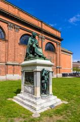 Statue of Asmus Jacob Carstens in Copenhagen, Denmark