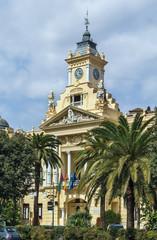 Malaga city hall, Spain
