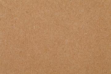 Close - up cardboard sheet of brown paper