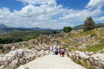 Archaeological site of Mycenae, Greece