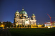 canvas print picture - Berliner Dom overview