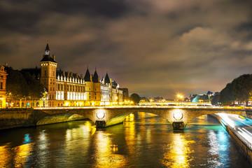 The Conciergerie building in Paris, France