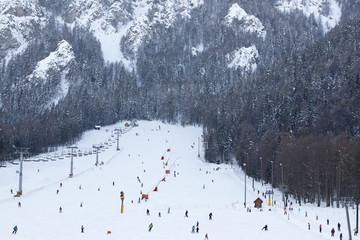 Ski resort, Europe