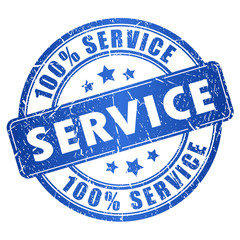 Service vector stamp