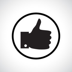 Thumb up icon.