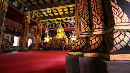 Wat Phanaon temple Chiang Mai Province Asia Thailand