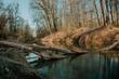 canvas print picture - Fluss