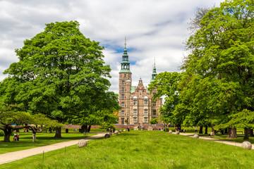 Rosenborg Castle Gardens in Copenhagen - Denmark