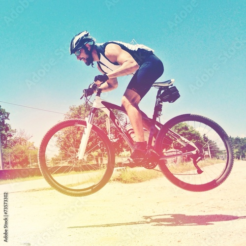 Professional bike racer shoot!
