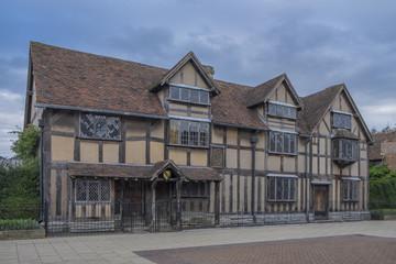 William Shakespeare's birthplace in Stratford upon Avon