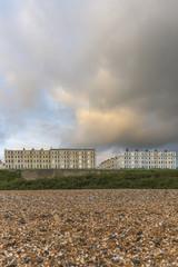 Regency townhouses on the historic promenade at Brighton