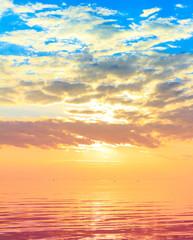 Sun Panorama Rising