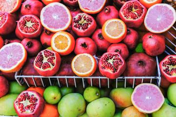 Pomegranate Orange and Apple