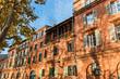Façade d'immeuble à Toulouse