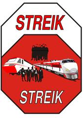 Streik - Lokführer