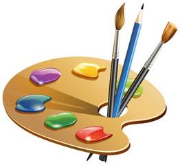 Paint Brush - Illustration