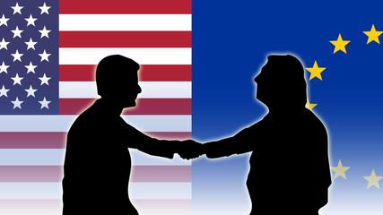 Freihandelsabkommen - Handschlag OhneText - 16 zu 9 - g2602