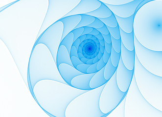 abstract bright spiral fractal background