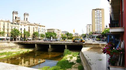 Puente sobre el río Onyar, Girona