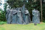 Sculpture in the Grutas park near Druskininkai city