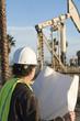 Engineer at oil pump