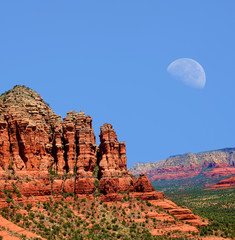 Sedona Arizona Moon