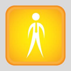 human silhouette design