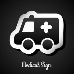 medical sign design