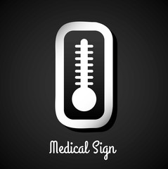 medical sign design