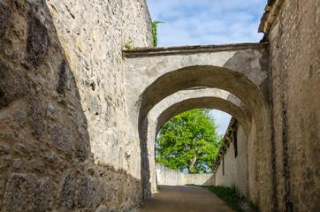 Burgweg in der Willibaldsburg