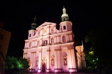 Church of Saint Bernardine Kraków, Poland