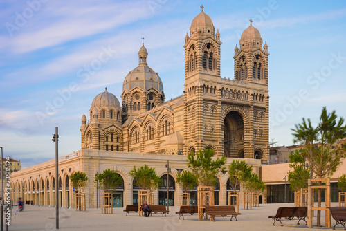 Leinwandbild Motiv Marseille - Cathédrale de la Major
