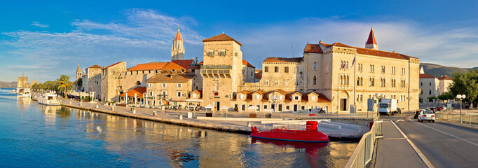UNESCO town of Trogir panorama