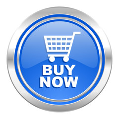 buy now icon, blue button