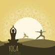 Yoga background. - 73587134