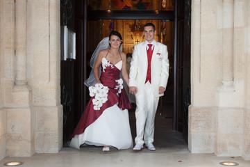 Les mariés sont là