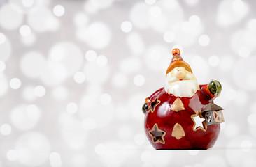 Ceramic Santa Claus decoration