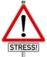 Stress Schild  #141122-svg01