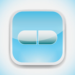 pill vector icon