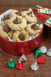 canvas print picture - Peanut Butter Blossom Cookies
